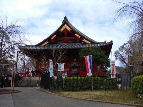 Templo Kiyomizu Kanon-do en el Parque Ueno