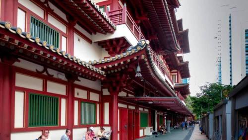 Templo de la Reliquia del Diente de Buda en Chinatown