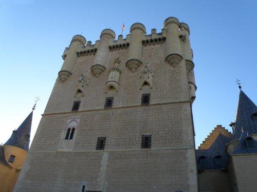 Torre de Juan II, la más alta del Alcázar de Segovia