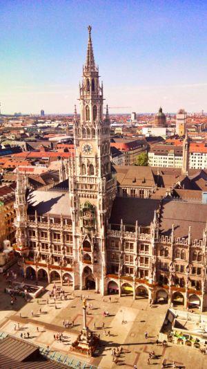 Torre del Ayuntamiento de Múnich