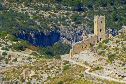 Torre del Cañavate, formaba parte de las líneas defensivas de Alarcon