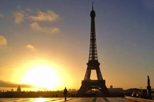 Torre Eiffel, construida para la Exposición Universal de 1889