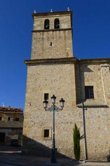 Torre de la Iglesia de Santiago en Turégano