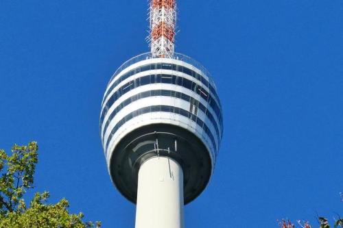 Plataforma de observación de la Torre de Televisión de Stuttgart o Stuttgart Fernsehturm