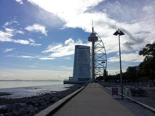 Torre Vasco de Gama en el Parque de las Naciones