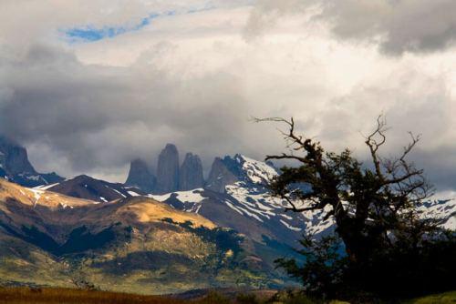 Torres del Paine, macizo montañoso que da nombre al parque