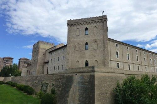 Torres defensivas del Palacio de la Aljafería de Zaragoza