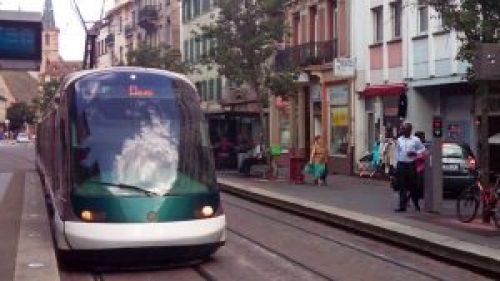 Tranvía de Estrasburgo, el medio de transporte más utilizado para moverse por la ciudad
