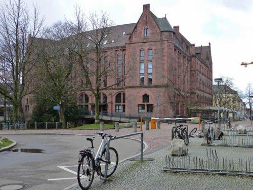 Universidad de Friburgo de Brisgovia, fundada en la Edad Media