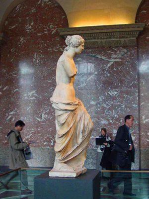 Venus de Milo en el Louvre