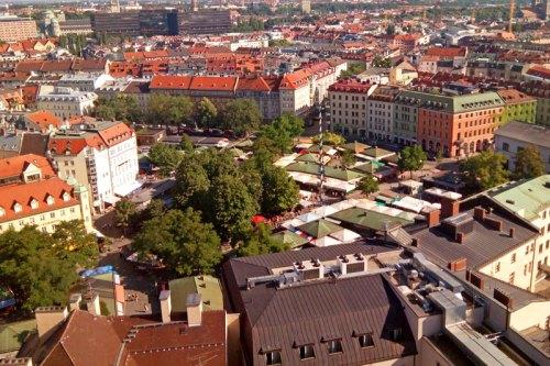 Viktualienmarkt, el mercado gastronómico más famoso de Múnich