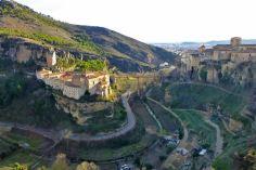 Vistas panorámicas de Cuenca , ciudad declarada Patrimonio de la Humanidad