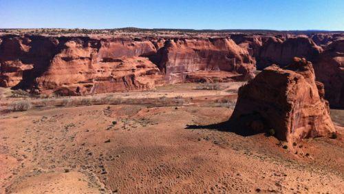 Formaciones rocosas en el Canyon de Chelly