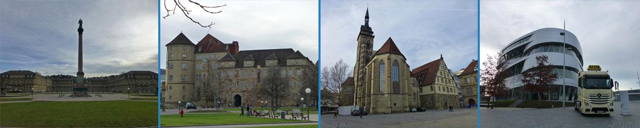 Guía de turismo con información y fotos para planificar un viaje a Stuttgart, ciudad de Alemania