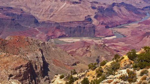 Río Colorado el encargado de dar forma durante siglos al Gran Cañón del Colorado