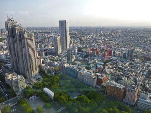 Vistas de Shinjuku desde los miradores del Ayuntamiento de Tokio