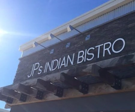 Lunching at JPs Indian Bistro