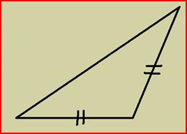 So, for an isosceles triangle to be considered obtuse, it just has to be a triangle with two equal sides and an angle that is in between 90 degrees and 180 degrees. Quia - Classifying Angles and Triangles