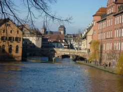 Strasbourg. Gorgeous city! I only wish the schedule had allowed more time to explore.