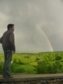 Double rainbow with António