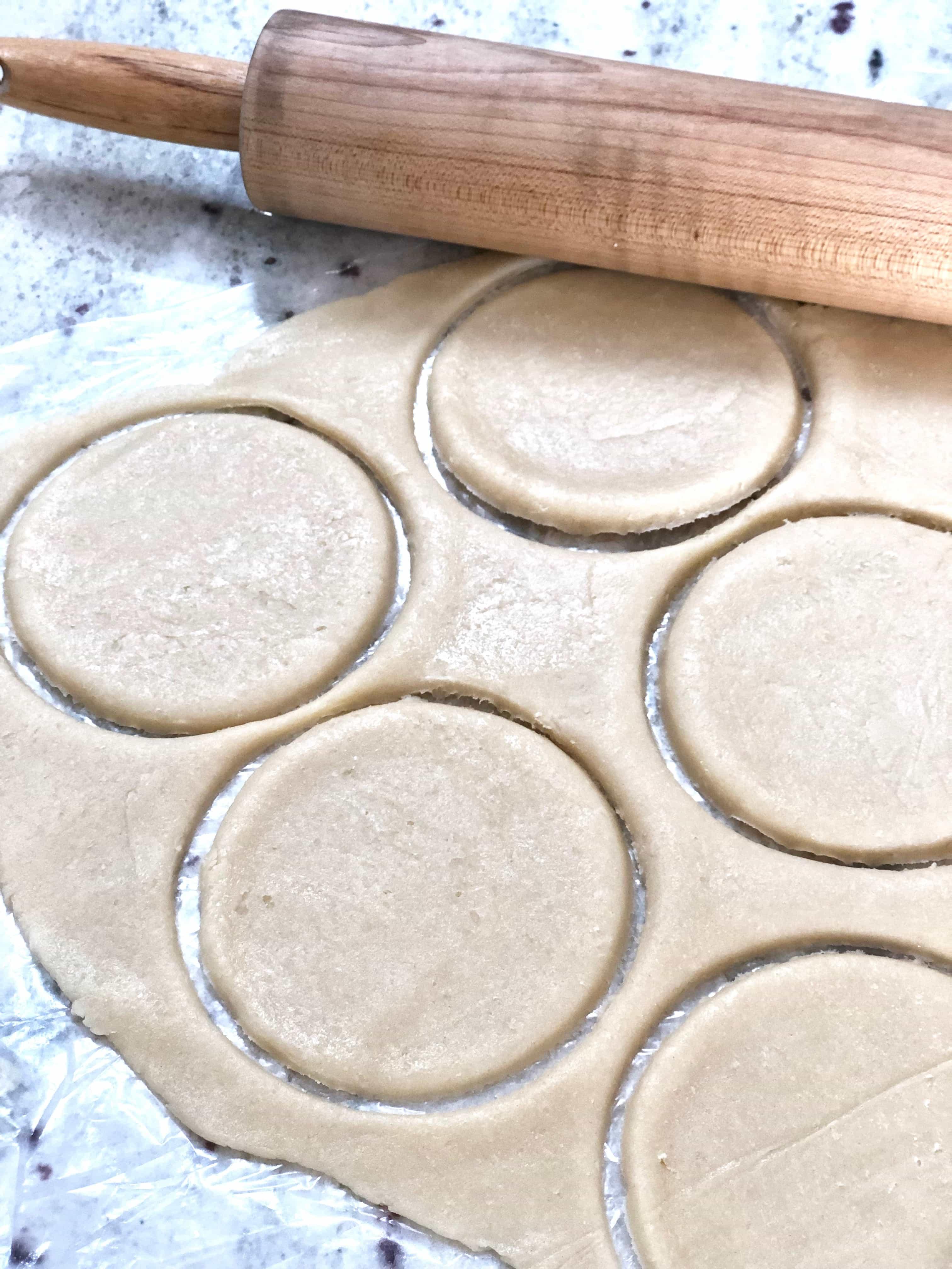 dough for peach hand pies