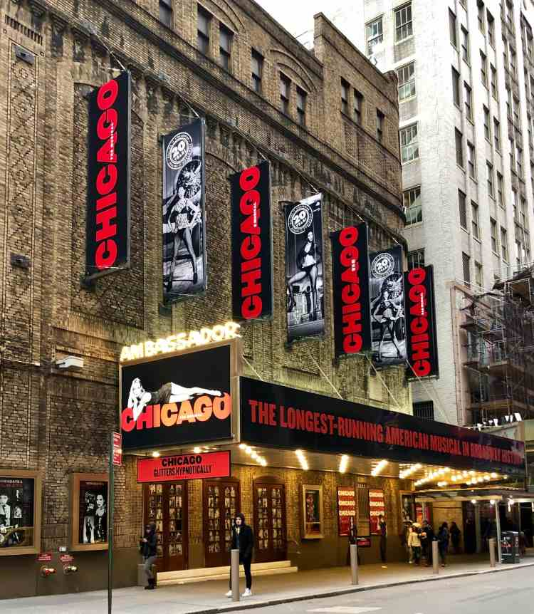 CHICAGO Musical on Broadway!