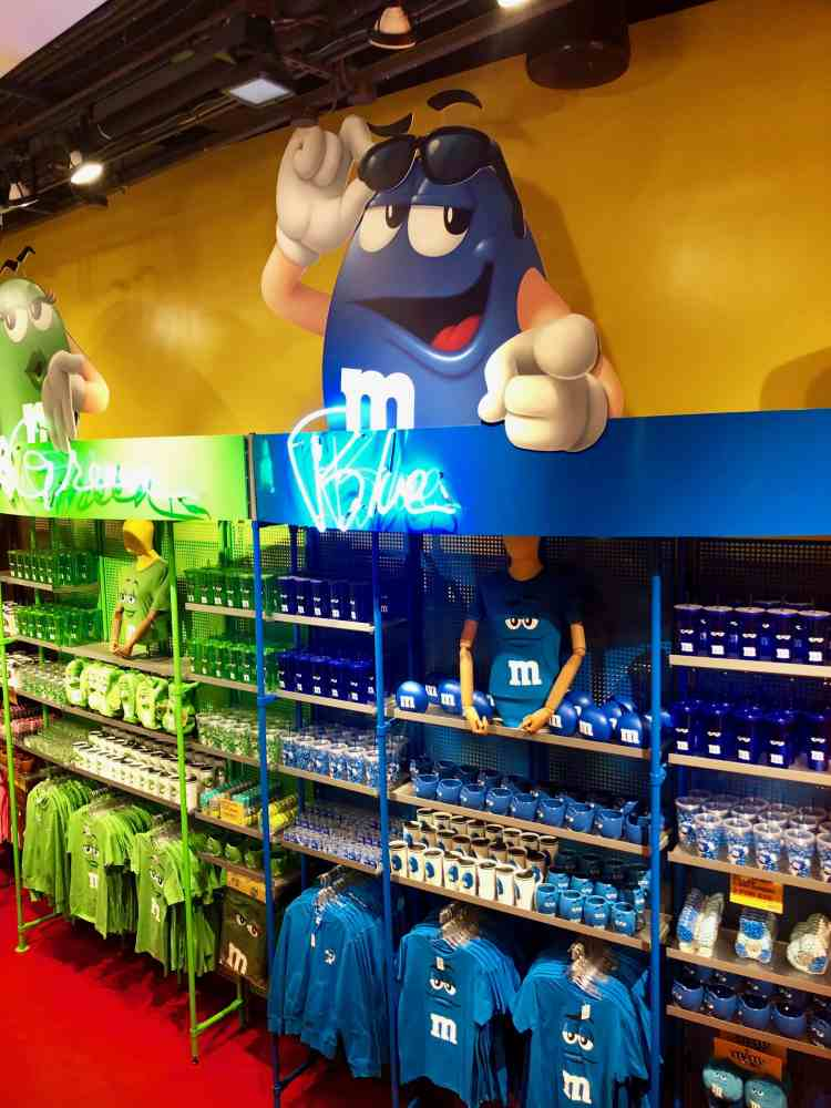 M & M's Store in Times Square, NYC