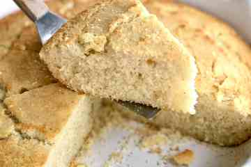 easy southern cornbread with buttermilk and self rising cornmeal