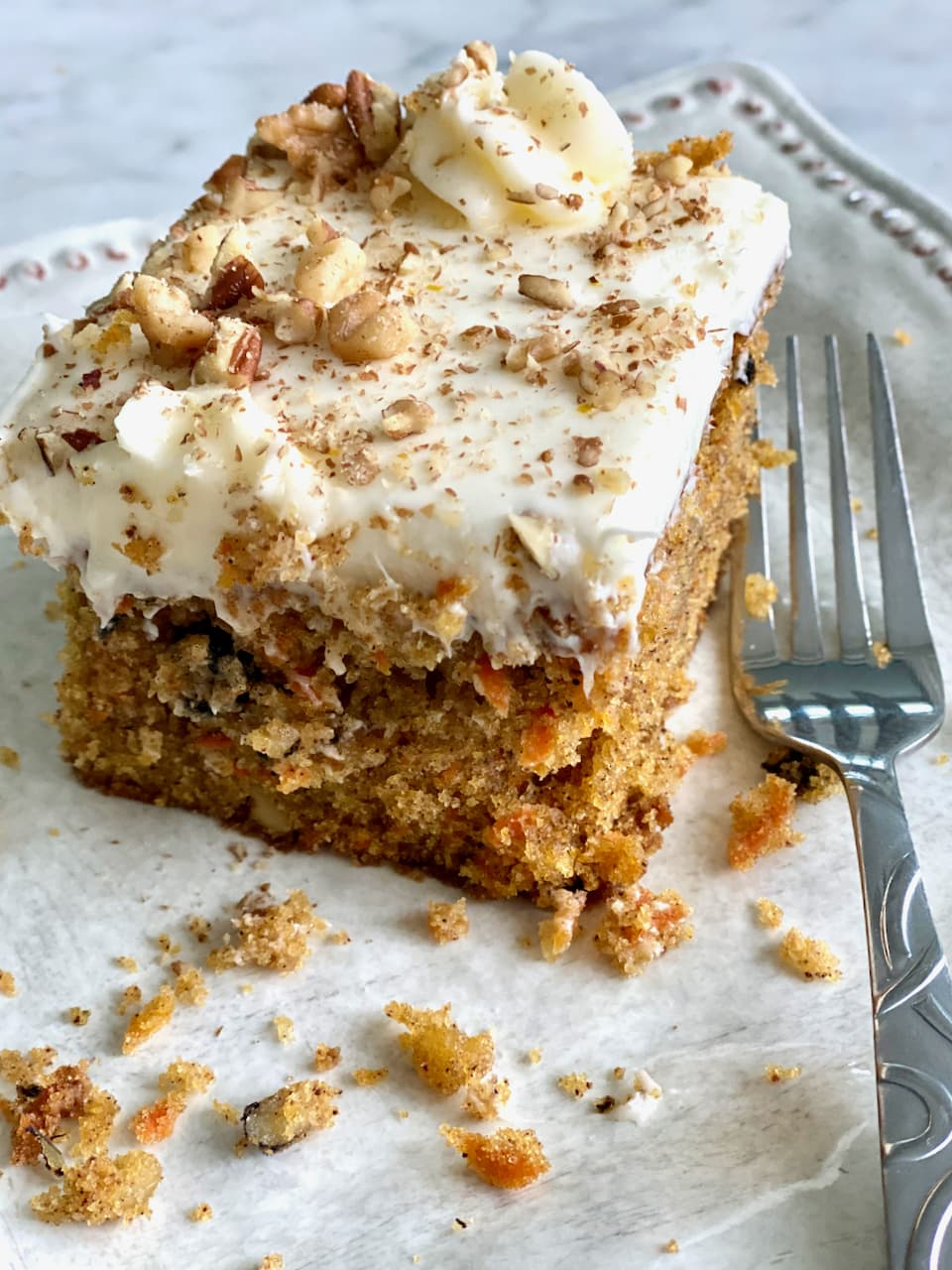 Loaded Carrot Cake by Quiche My Grits - Weekend Potluck 448