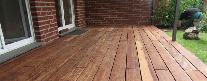 terrassen aus holz oder kunststoff - boisholz, Moderne