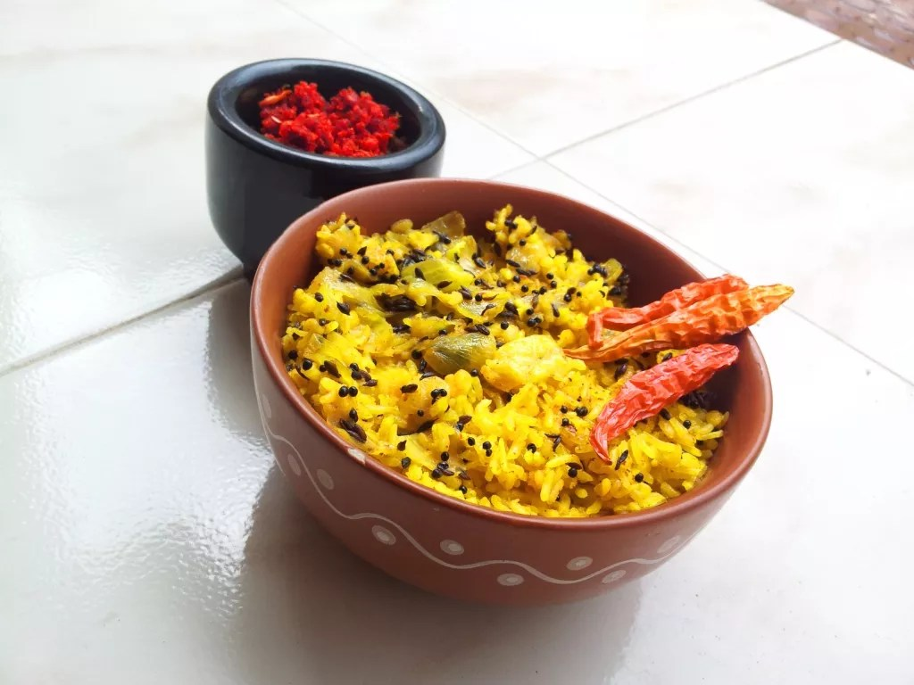 Khichdi - Rice With Lentil - Indian