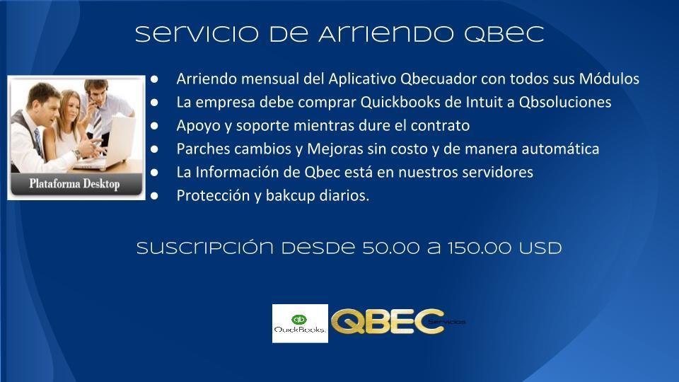 Quickbooks Ecuador