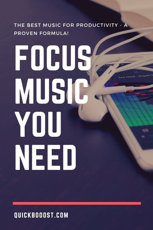 Here are the best kinds of music for productivity! Start listening and start getting more done with this productivity hack.