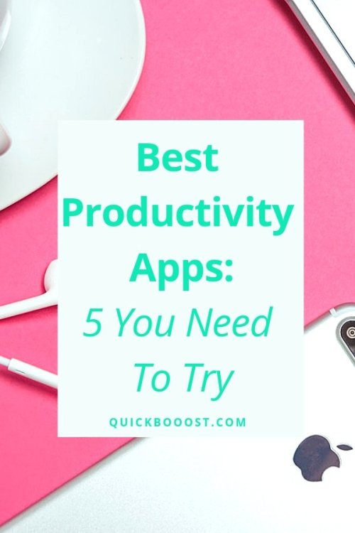 Here are the 5 best productivity apps that you can use to get more done, be better organized, and boost your productivity.