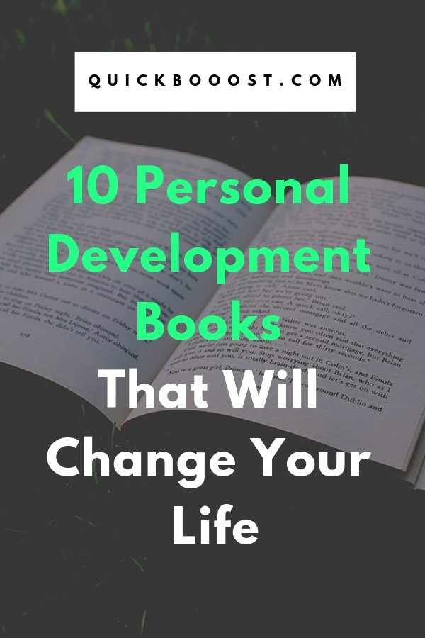 10 personal development books that will change your life! Experience personal development, personal growth, self improvement, and become the best that you can be with these books.