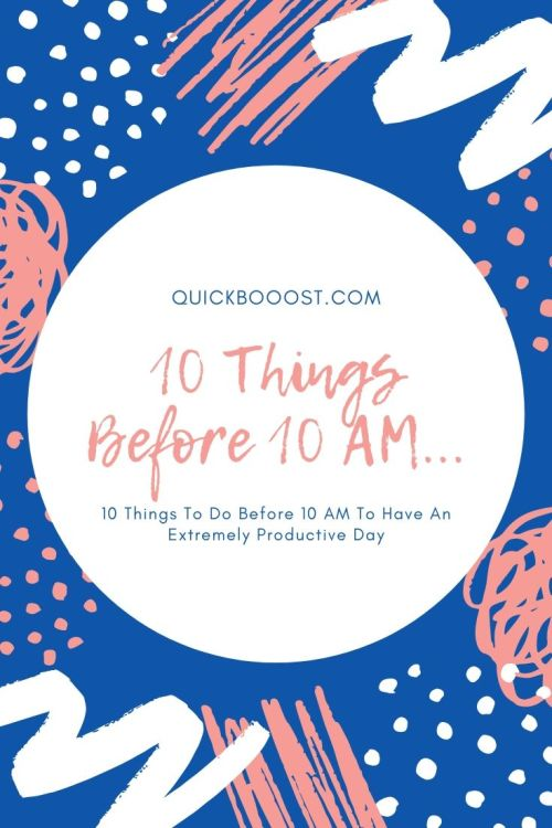 Supercharge your days by doing these things each morning. Use these productivity tips, tactics, and strategies to set yourself up for an extremely productive day.