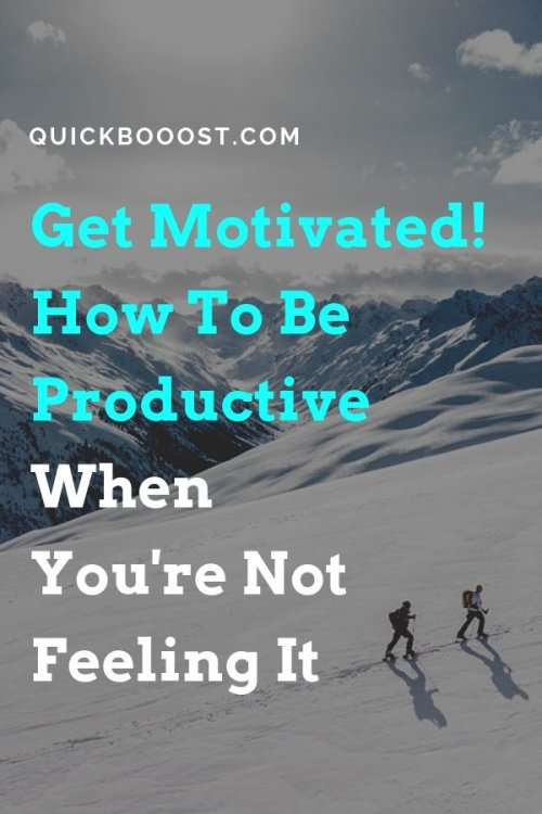 Get ready for some awesome productivity motivation! Get motivated like never before by utilizing these productivity tips, tactics, and strategies.