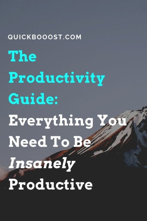 What is productivity, why does it matter, and how can you get started being productive right now... Use this guide to take your productivity to new heights!