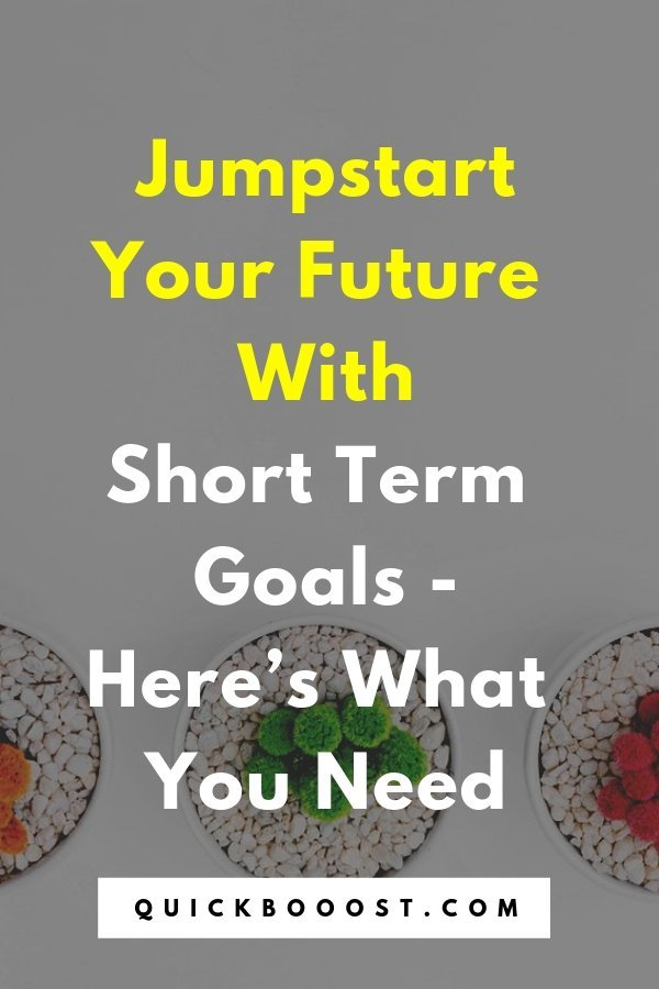 Use short term goals to your advantage! Learn what they are and why you need them, plus get examples of them in this goal setting breakdown.