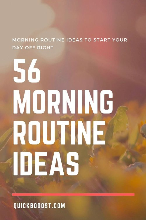 Use these morning routine ideas to start your day off on the right foot. Utilize them to be more productive, enhance your time management, and achieve your goals!