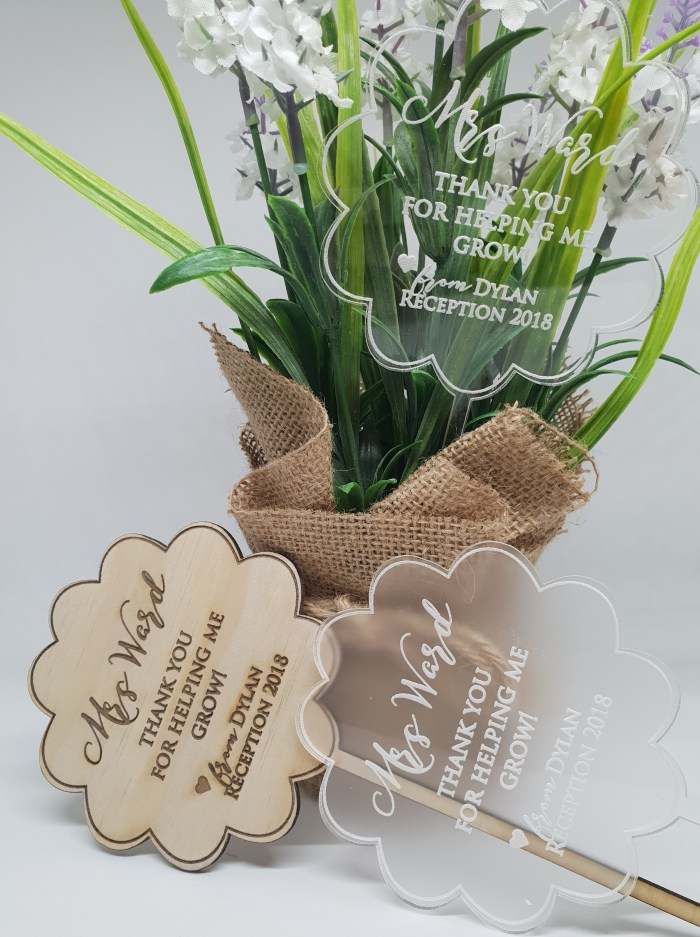 Flower Teacher Gifts
