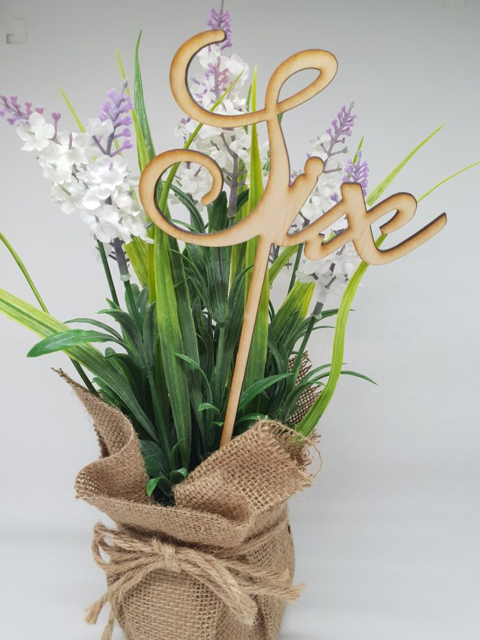 Wooden Table Number Pick