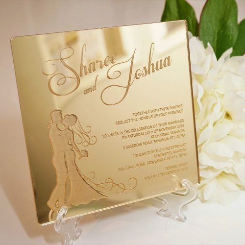 Bride & Groom Invitation