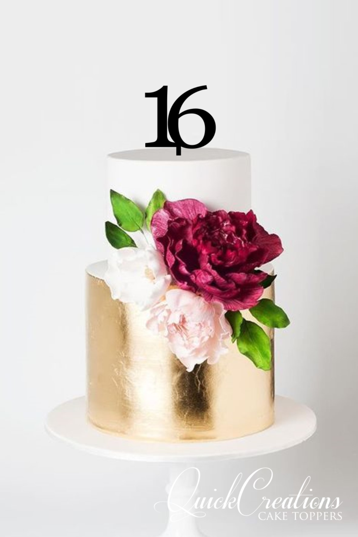 Quick Creations Cake Topper - 16
