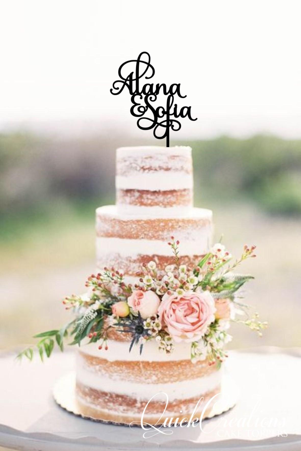 Quick Creations Cake Topper - Alana & Sofia