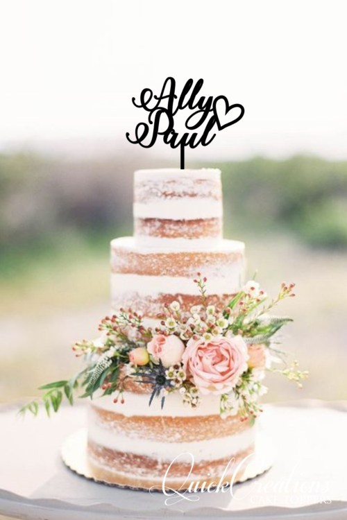 Quick Creations Cake Topper - Ally Heart Paul