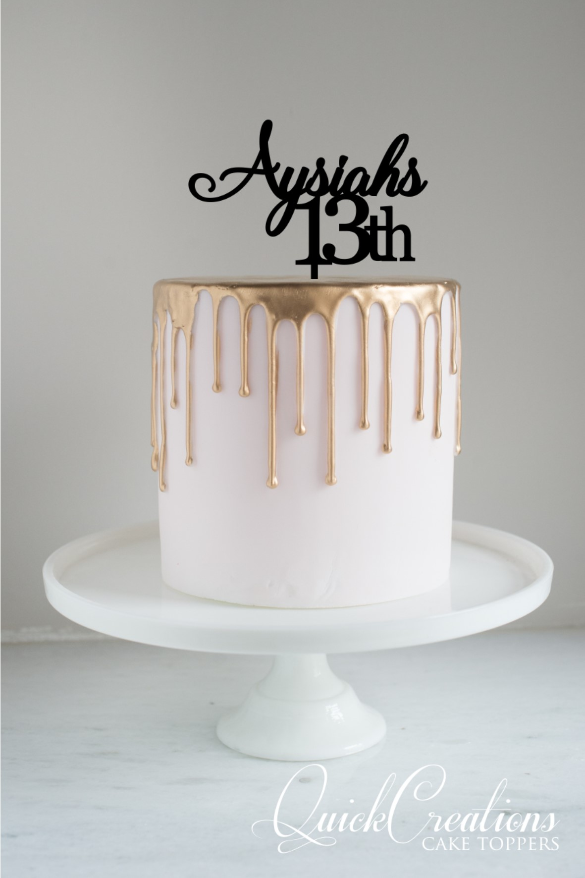 Quick Creations Cake Topper - Asyiha 13