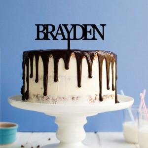 Quick Creations Cake Topper - Braydon
