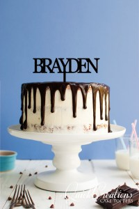 Quick Creations Cake Topper - Braydon