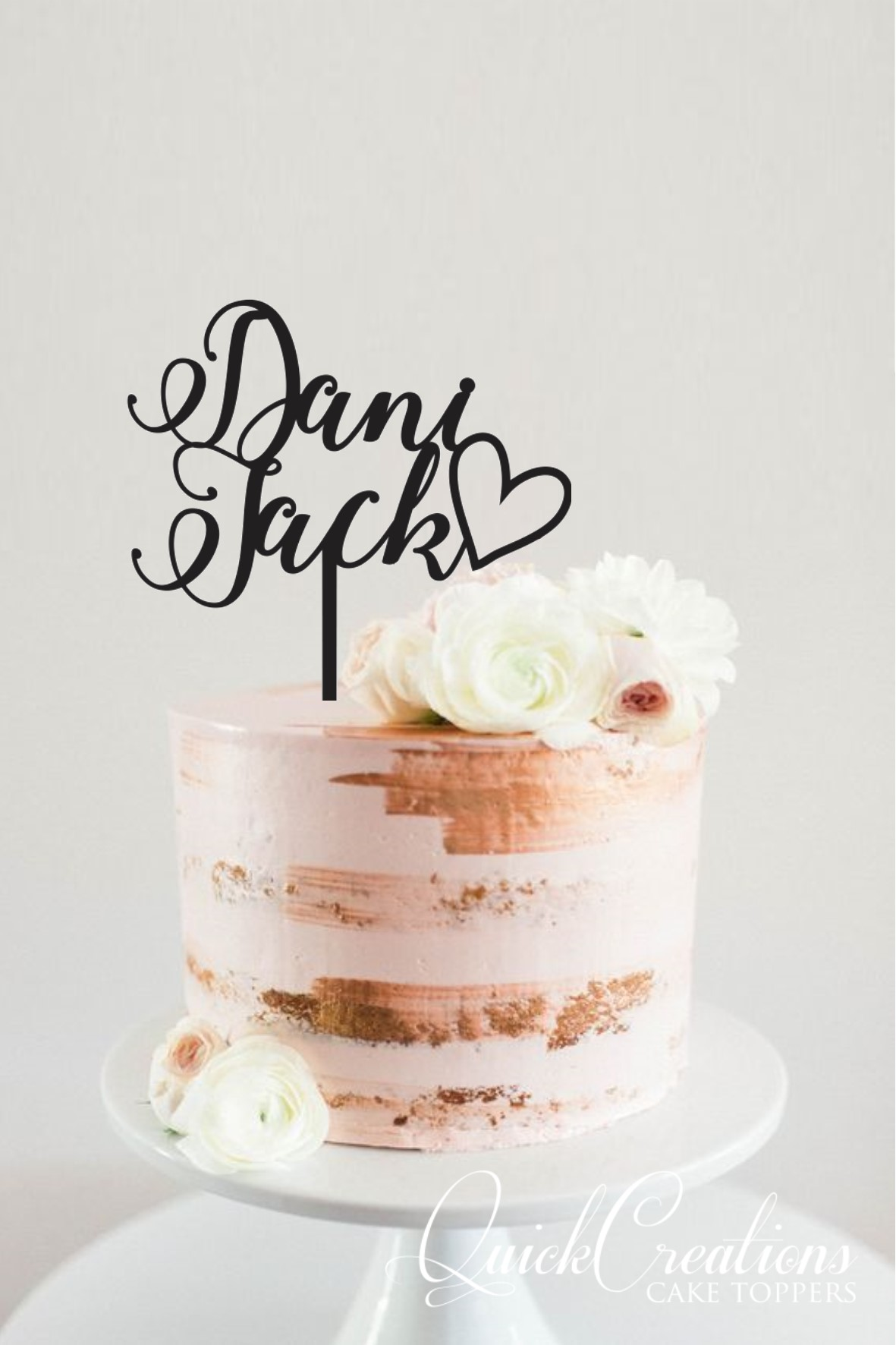 Quick Creations Cake Topper - Dani Heart Jack